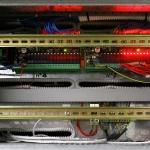Dettaglio pulsantiera comando accensioni luci