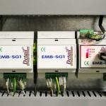 Dettaglio sistema di controllo impianto di illuminazione