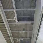 Dettaglio impianto illuminazione officina