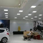 Impianto di illuminazione su controsoffitto