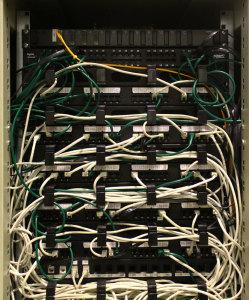 Rack cablaggio strutturato